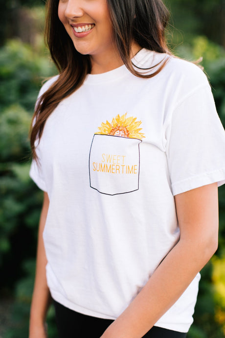 Sweet Summertime Vintage Tee - Fan Girl MN