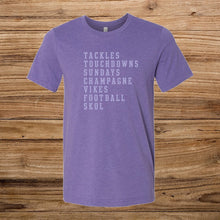 Tackles and Touchdowns Boyfriend Tee - Fan Girl MN