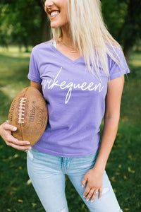 Vikequeen V-neck - Fan Girl MN