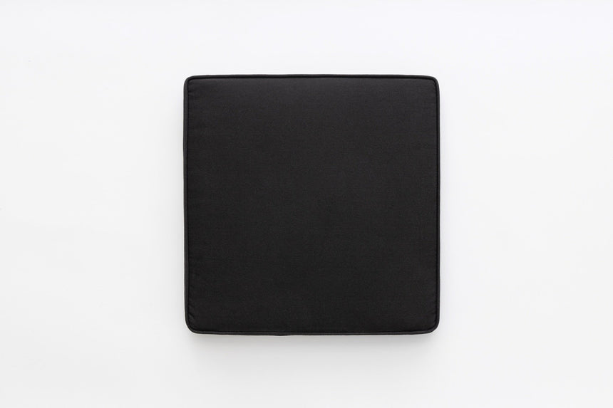 Seating pad - Black cotton