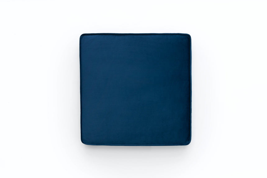 Seating pad - Blue velvet