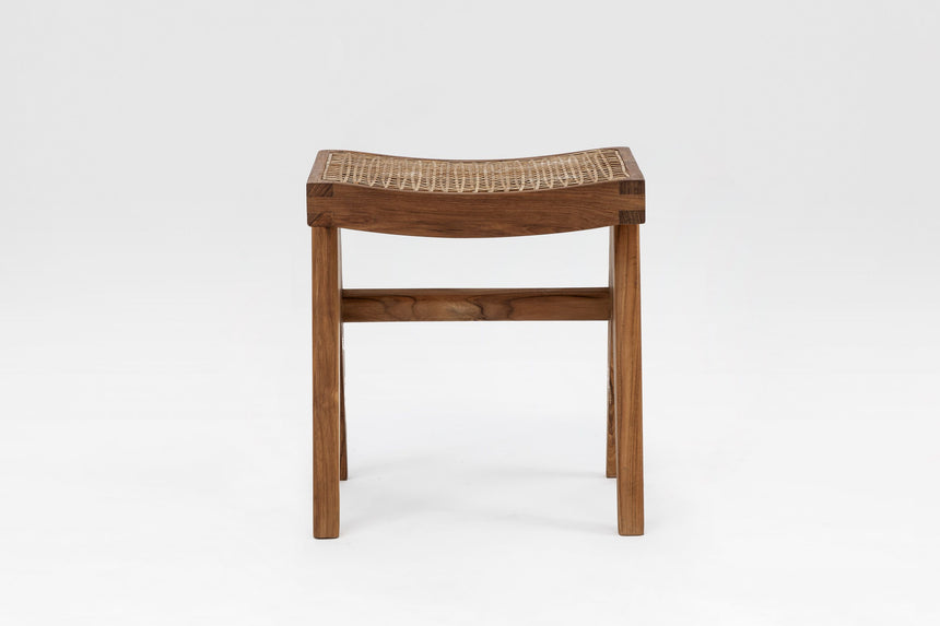Cane Footstool