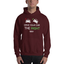 Load image into Gallery viewer, Drive Right Male Hooded Sweatshirt