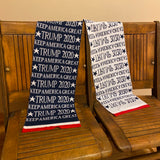 Trump 2020 Scarf, Trump 2020 Keep America Great Gear, Trump 2020 Gifts, Trump Gifts, Donald Trump Christmas Gifts, Gift Ideas for Trump Supporters, Trump Supporter Gifts