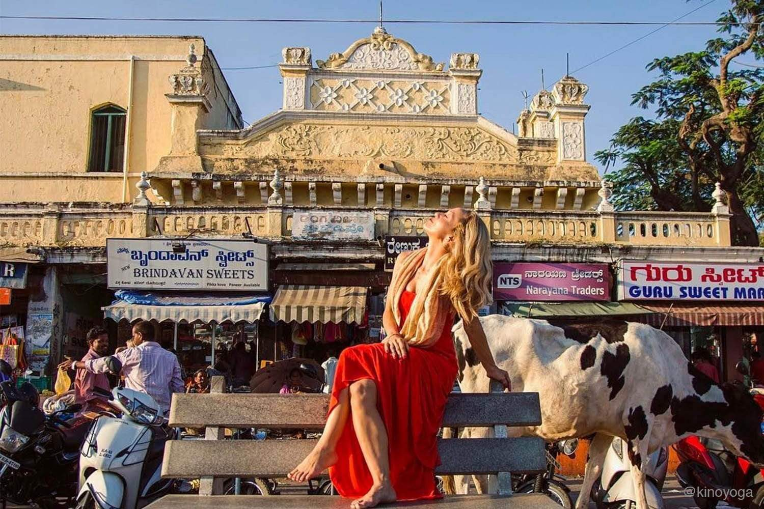 Kino MacGregor in Mysore, India