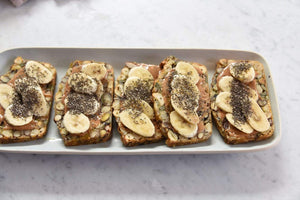 Seed & nut loaf- flourless & gluten free