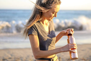 Water bottles to save you and the planet. Introducing AYUR to Yoga Rebel.