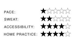 Yin Yoga Star Ratings