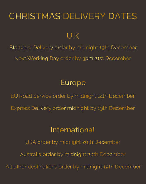 Yoga Rebel Christmas Delivery Dates