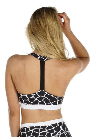WOMENS BRAS ALL FENIX Charlie Black Crop