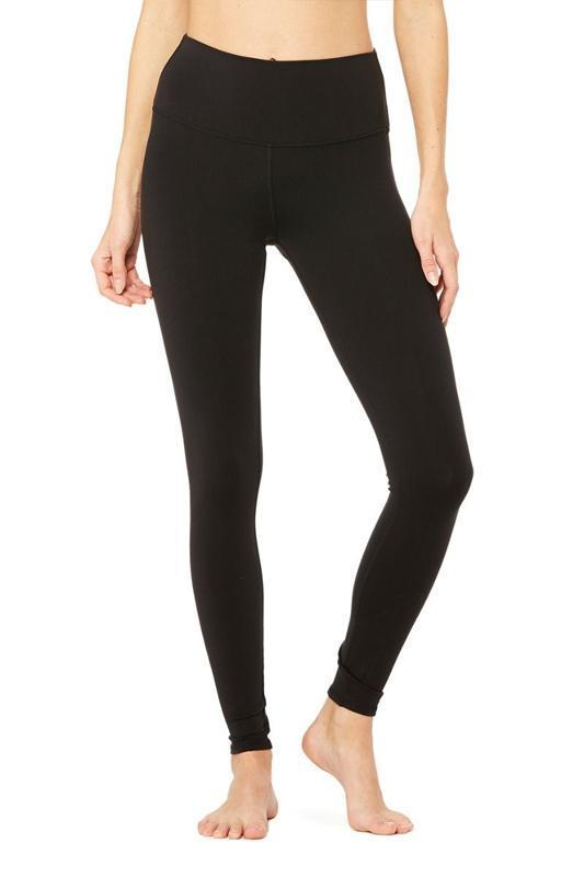 6790070aa8ae3 WOMENS LEGGINGS Alo Yoga High Waist Dash Legging - Black