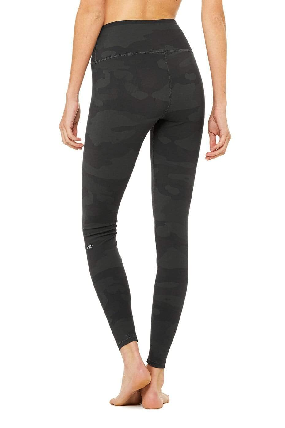 sneakers for cheap factory outlets limited price Alo Yoga High Waist Vapor Legging - Black Camouflage