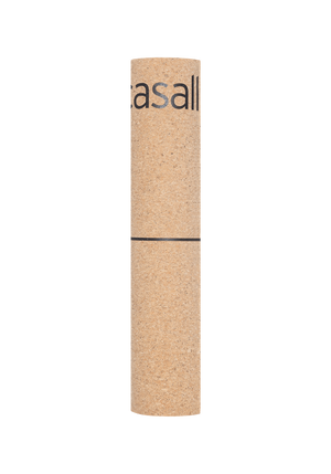 MATS Casall Yoga Mat Natural Cork 5mm – Natural Cork/Black