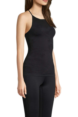 Women's Tops/Tanks S Casall Seamless Skin Strap Top – Black