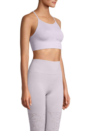 WOMENS BRAS S Casall Seamless Skin Sport Top – Lavender Spa