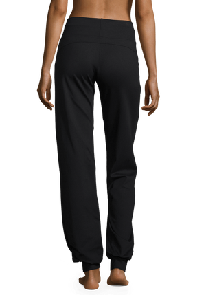 WOMENS LEGGINGS S (U.K 8) Casall Plow pants – Black