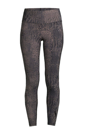 WOMENS LEGGINGS 34 (U.K 8) Casall Sculpture Alligator High Waist Tights – Alligator