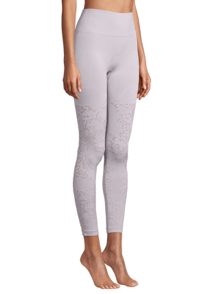 WOMENS LEGGINGS S (U.K 8) Casall Seamless Skin Tights – Lavender Spa