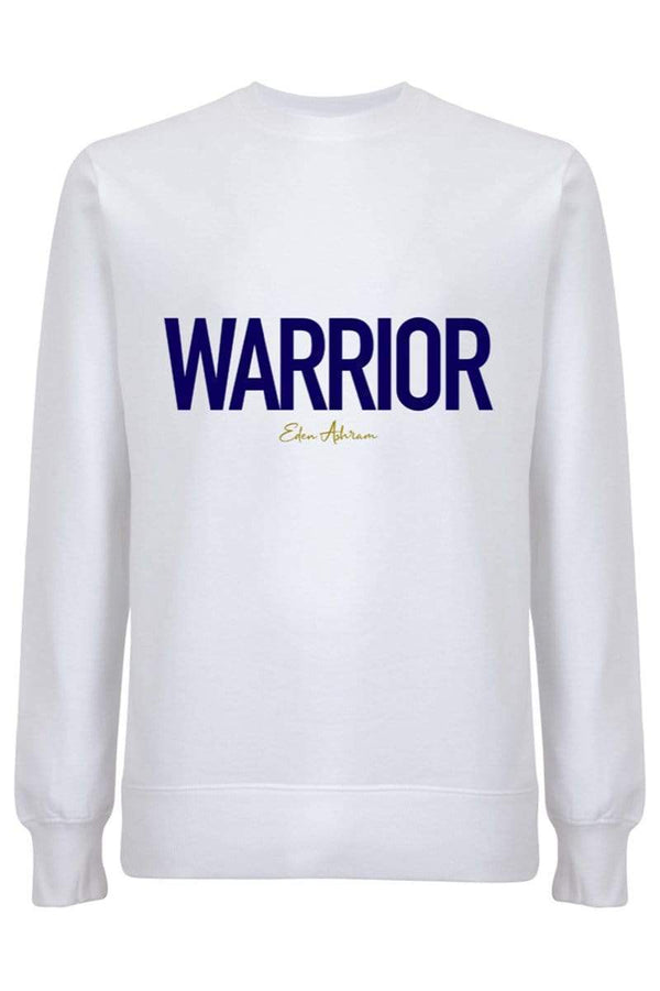 Women's Sweatshirts Warrior Organic Raglan Sweatshirt - White