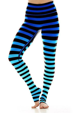 WOMENS LEGGINGS K-DEER Legging - Alexis Stripe