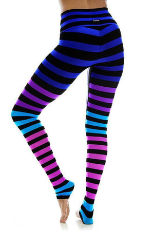 WOMENS LEGGINGS K-DEER Legging - Jamie Stripe