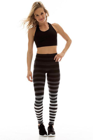 WOMENS LEGGINGS K-DEER Legging - Jody Stripe
