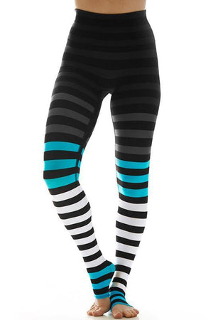 WOMENS LEGGINGS K-DEER Ruth Stripe Legging