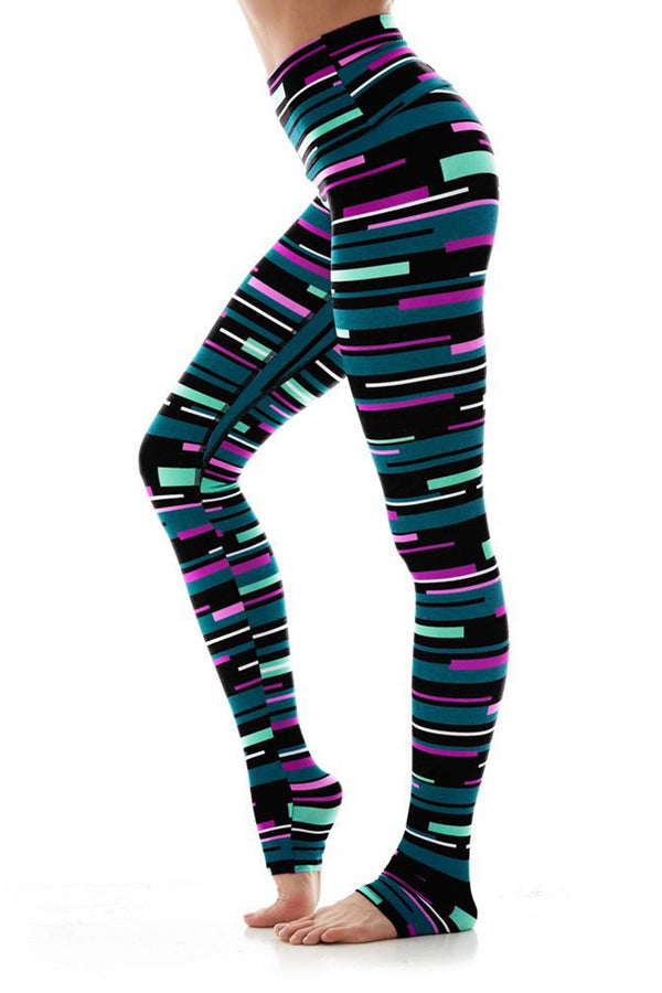 WOMENS LEGGINGS XS (U.K 4-6) K-DEER Legging in Newport