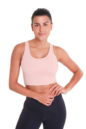 WOMENS BRAS Liquido Eco Crop Top Petit Rose