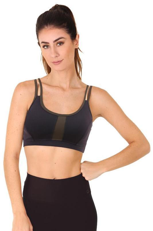 WOMENS BRAS Liquido Futura Bra - Military Green