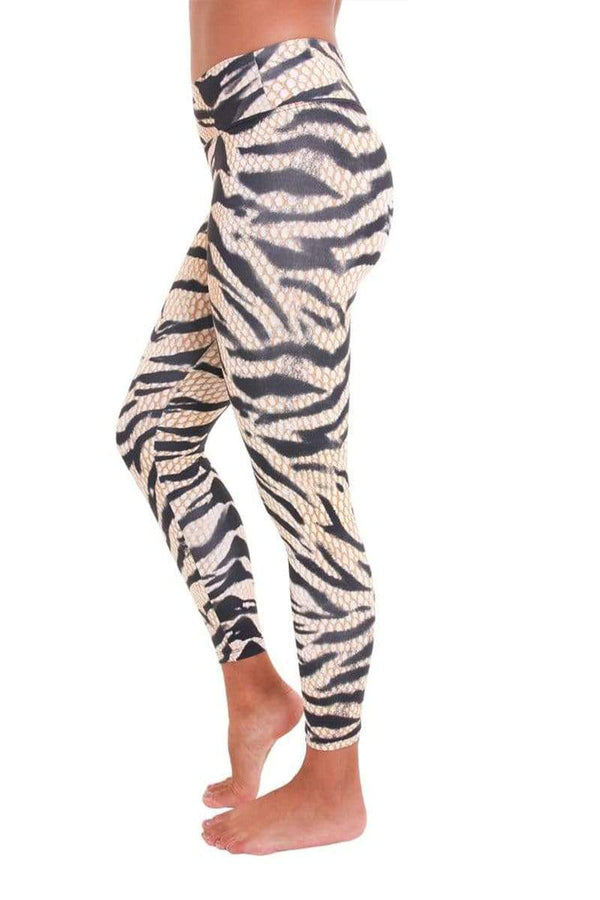 WOMENS LEGGINGS Liquido 7/8 Eco Legging - Tiger