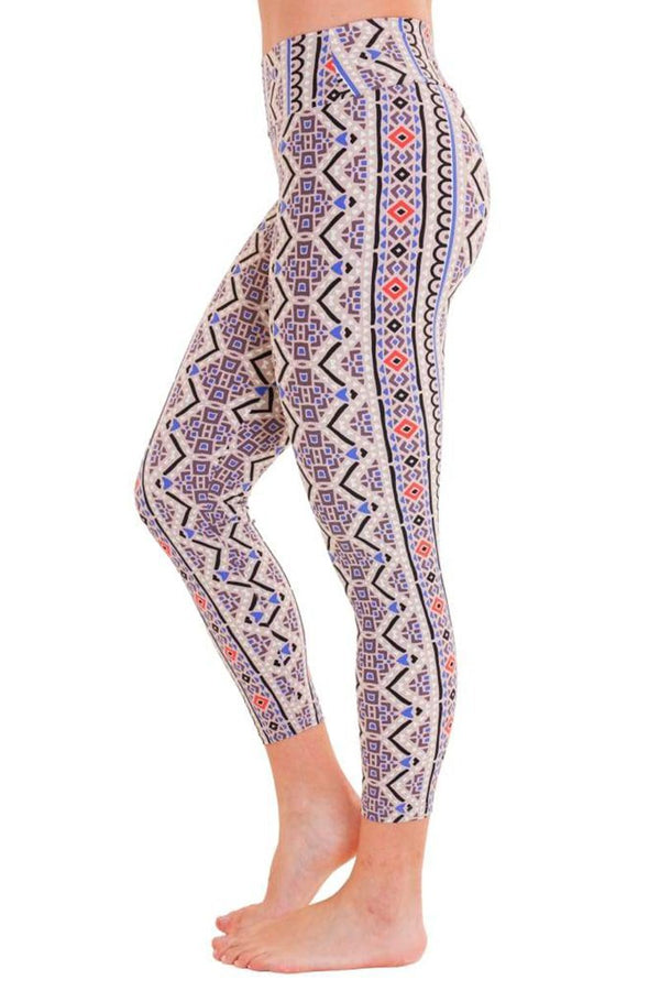 WOMENS LEGGINGS Liquido 7/8 Legging Geo Power By Tiffany Cruikshank