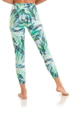WOMENS LEGGINGS Liquido 7/8 Legging - Hummingbird