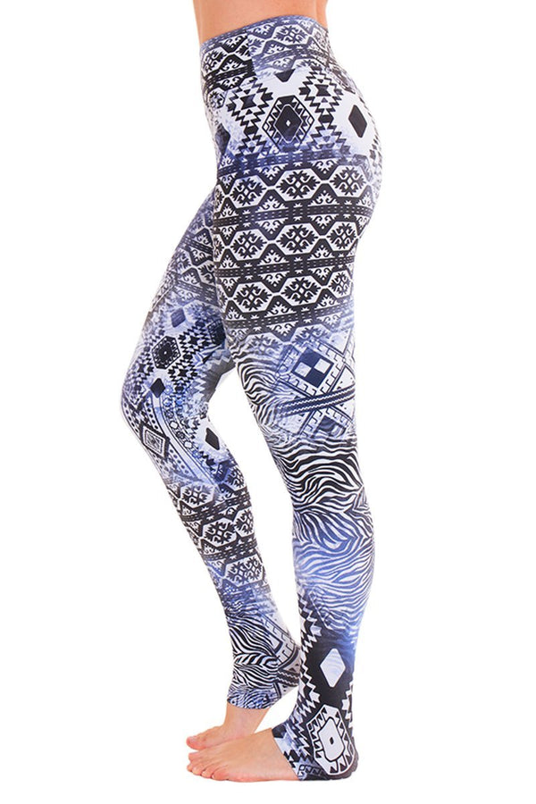 WOMENS LEGGINGS Liquido Extra Long Legging - Hawaii