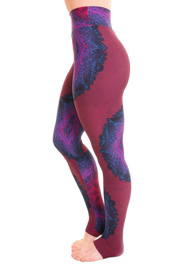 WOMENS LEGGINGS Liquido Extra Long Legging - Kaleidoscope