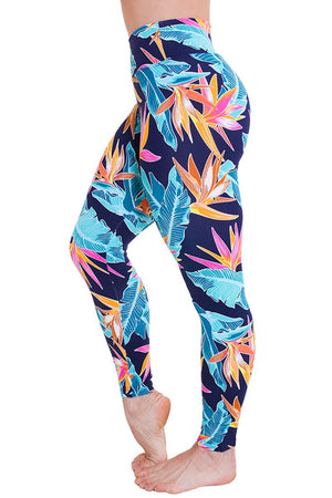 WOMENS LEGGINGS Liquido Extra Long Legging - Summer Night