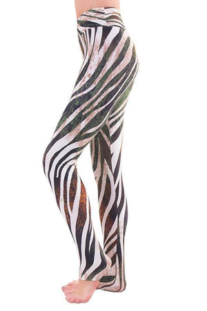 WOMENS LEGGINGS Liquido Extra Long Pattern Legging - Into The Wild