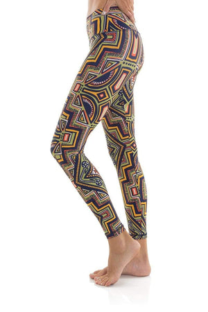 WOMENS LEGGINGS Liquido Om Eco Legging II Tribeca