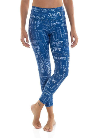 WOMENS LEGGINGS Liquido Om Legging Elevation