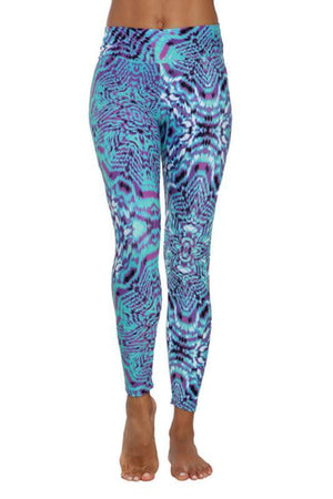 WOMENS LEGGINGS Liquido Pattern Leggings by Tiffany Cruikshank - Seva