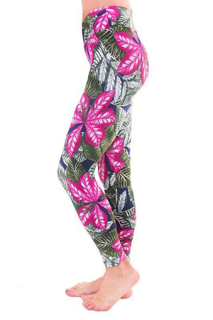 WOMENS LEGGINGS Liquido Patterned Legging - Ethiopia
