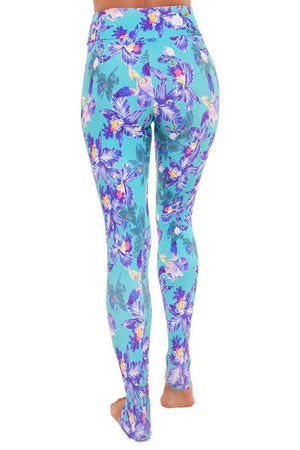 WOMENS LEGGINGS Liquido Young Crush Extra Long Pattern Legging