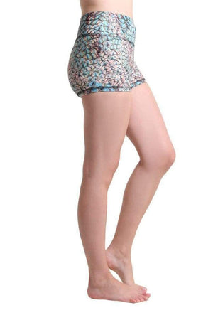 WOMENS SHORTS Liquido Amy Eco Shorts - Mermaid Spell
