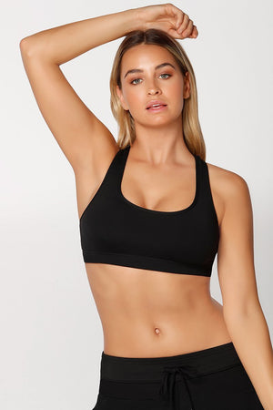 WOMENS BRAS LORNA JANE Comfort Sports Bra Black
