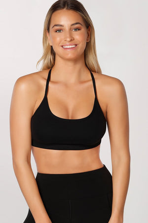 WOMENS BRAS LORNA JANE Pammy Sports Bra Black