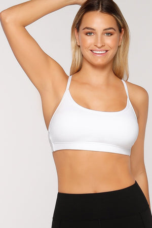 WOMENS BRAS LORNA JANE Pammy Sports Bra White