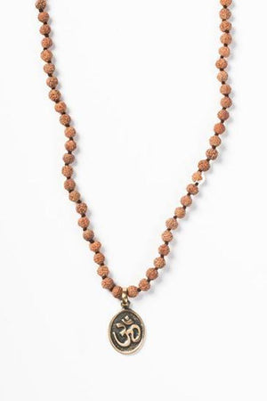 Jewellery Mala Collective Aum Balinese Coin Mala
