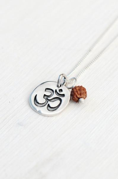 Jewellery Mala Collective Divine Om Pendant