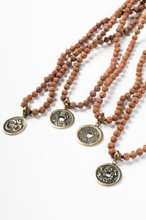 Jewellery Mala Collective Ganesh Balinese Coin Mala