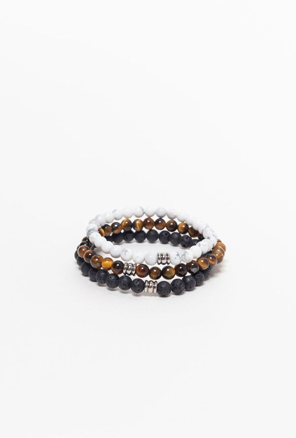 Jewellery Mala Collective Humble Warrior Bracelet Stack
